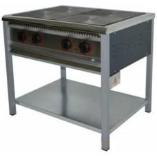 Плита промышленная без духовки ПЕ-4