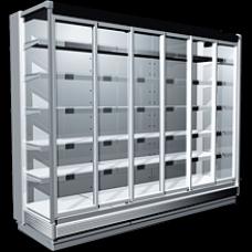 Холодильный регал Ravenna со стеклянными раздвижными системами