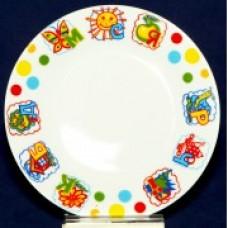 Тарелка №7  Азбука
