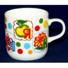 Чашка Азбука 340 мл,5:657