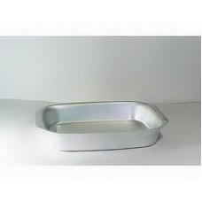Противень алюминиевый 210*294*50 мм