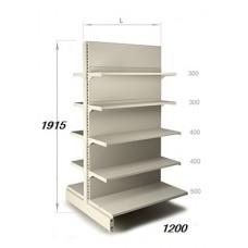 Стеллаж двусторонний 1915 х1210