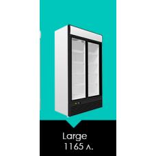 Холодильный шкаф Large стекло- дверь купе