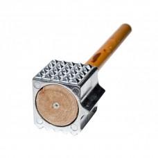 Молоток с  деревянной ручкой 9639